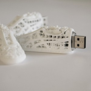 cle usb impression 3D Design