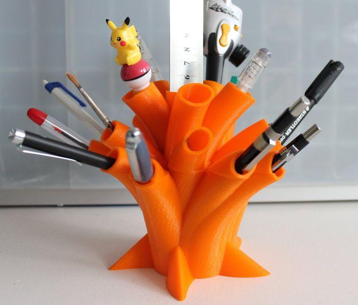 impression 3D personnalisation pot à crayons