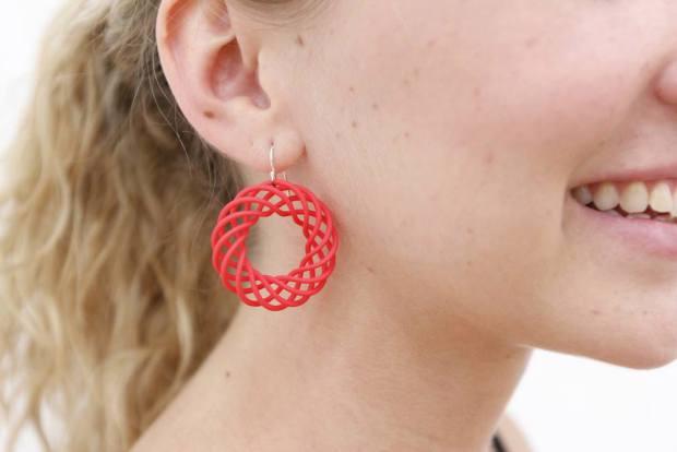 impression 3D personnalisation boucle oreille