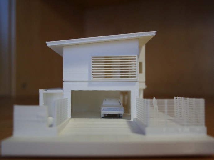 Impression 3D maquettes architecture promotion