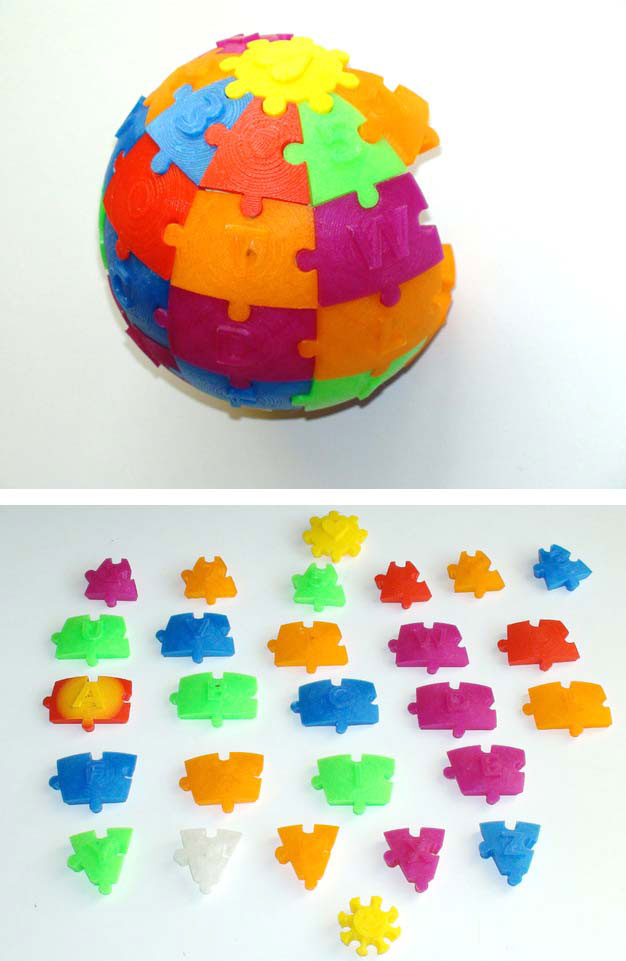 impression 3D puzzle