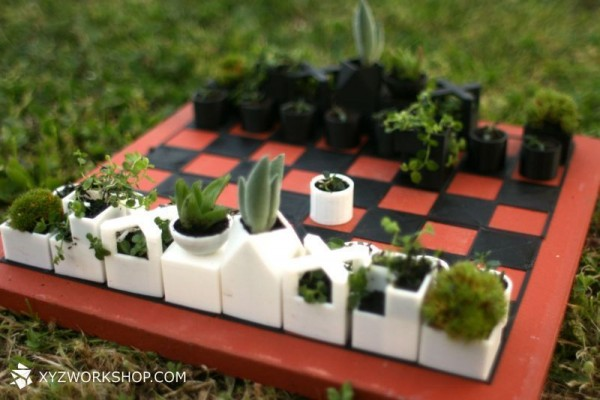 impression 3D jouer échecs