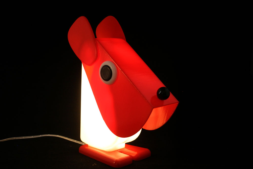 impression 3D Addditive Nice lampe designer F. Cassetta
