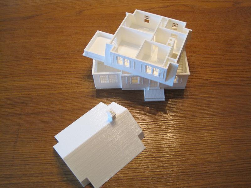 Maquettes architectes promoteurs