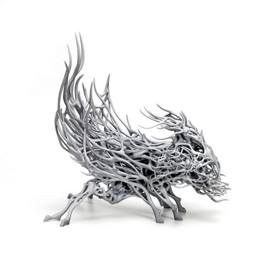 impression 3D oeuvre artiste