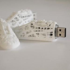 cle usb impression 3D Design