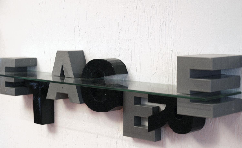 impression 3D décoration étagères