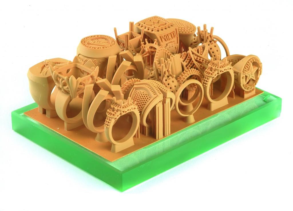 impression 3D bijouterie joaillerie