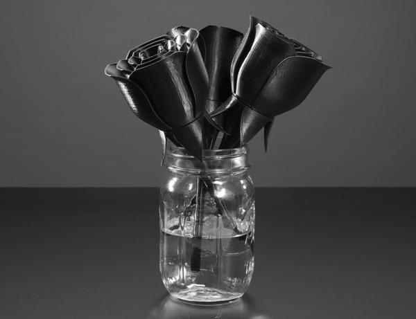 personnalisation impression 3D fleurs