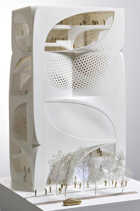 Impression 3D maquettes architecture promotion