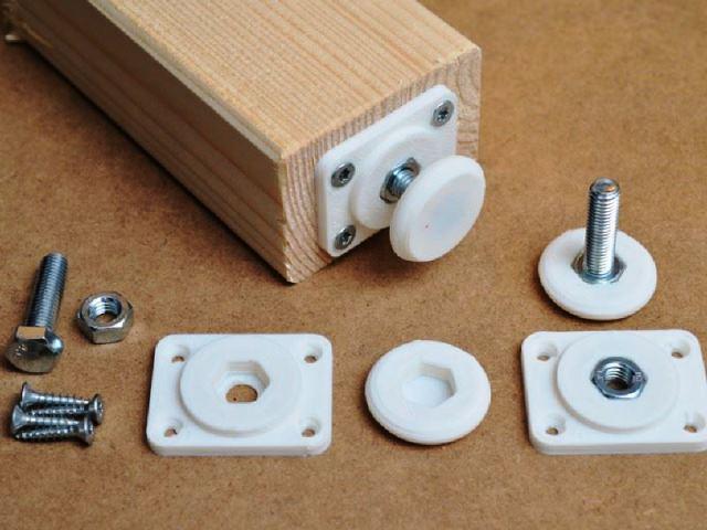 impression 3D reproduire pied table