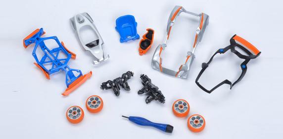 impression 3D jouer maquette voiture