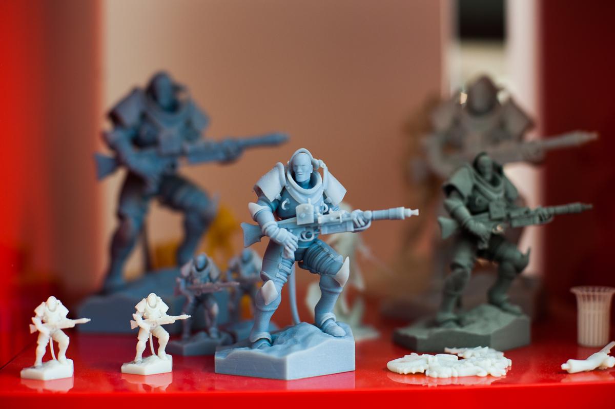 impression 3D jouer figurines jeux de rôles