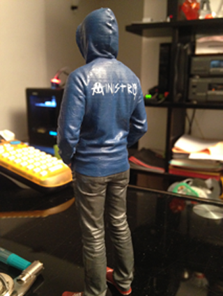 impression 3D figurine effigie