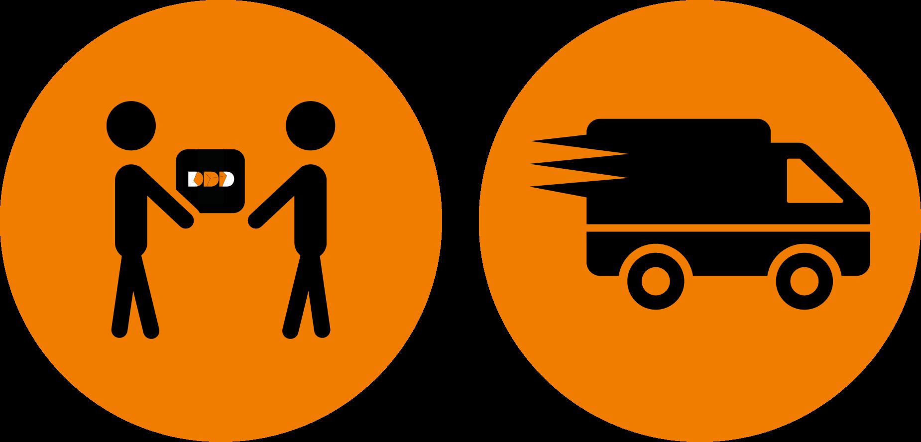 retrait chez addditive ou livraison à domicile