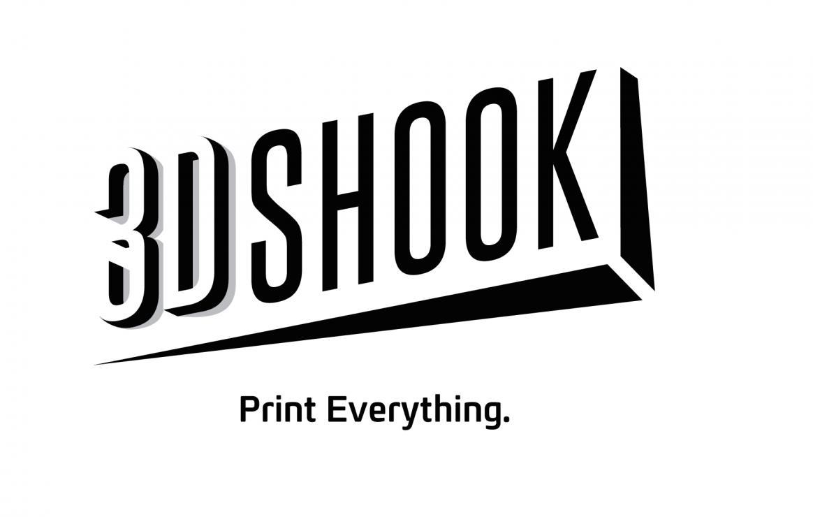 Impression 3D logo 3dshook